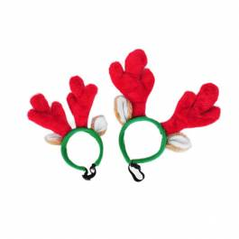 ZippyPaws Holiday Antlers - maat L