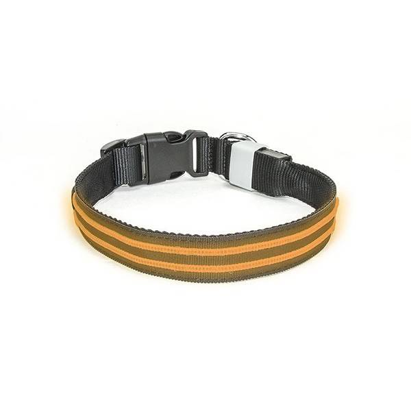 oranje led halsband waterdicht