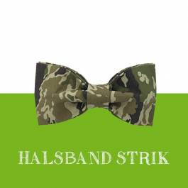 Strik voor halsband 'Army Boy'