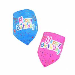 'Happy Birthday' honden bandana