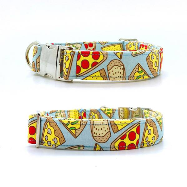 Halsband hond 'Pizza'