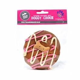 Barking Bakery Big Cookie Vanilla/Carob | Hondenkoek